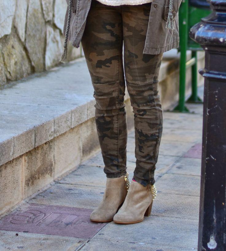 varios colores grandes ofertas Precio pagable pantalones de camuflaje para mujer zara