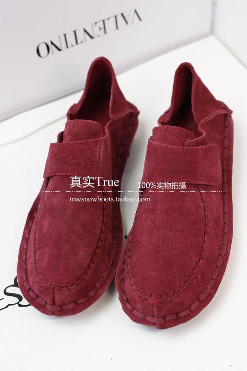 14 Весна Сен женской линии довольно большие ботинки нубук кожи детская обувь, принцесса обувь обувь обувь для вождения - Бесплатная доставка ...