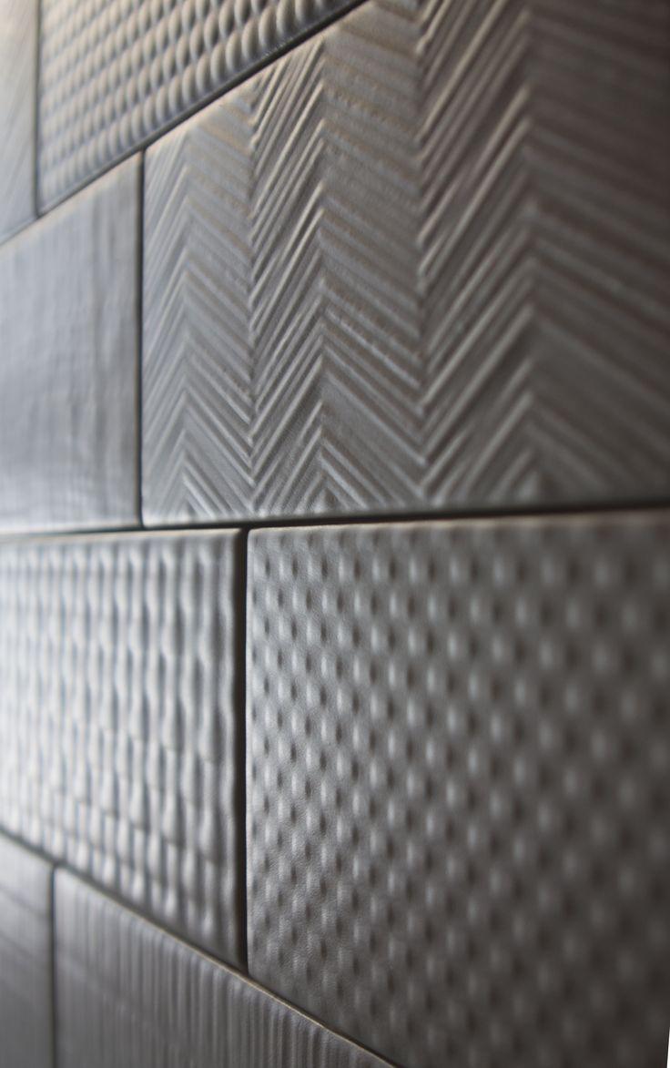 Graffiti wall tiles - Graffiti E Una Proposta Tonalite Di 8 Textures Sviluppate In 10 Colori E Coordinabili Alla 3d Tileswall