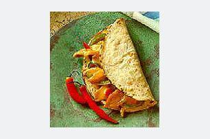 VELVEETA® Cheesy Chicken Fajitas recipe