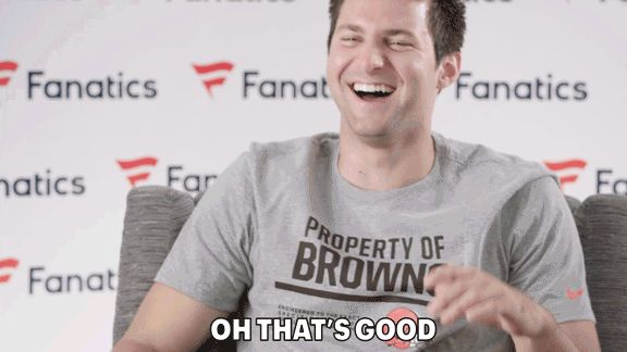 funny football nfl excited cleveland browns fanatics loveneverloses kessler cody kessler #humor #hilarious #funny #lol #rofl #lmao #memes #cute