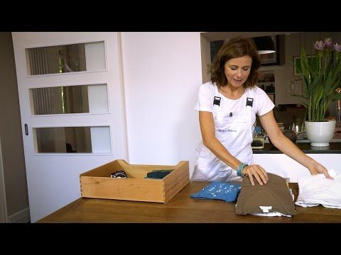 Piegare i vestiti con il metodo di Marie Kondo - Come fare con Barbara - YouTube