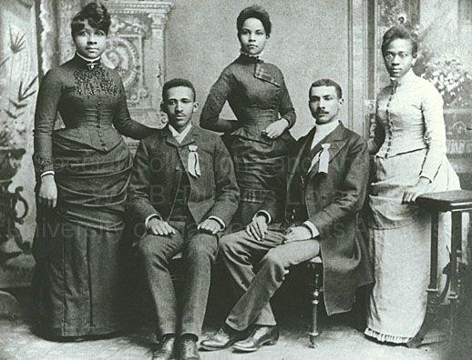Fisk Class of 1888 -  WEB Dubois
