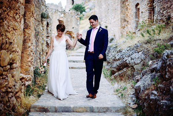 Ρομαντικος γαμος στη Χιο | Λουση & Μαρινος - EverAfter