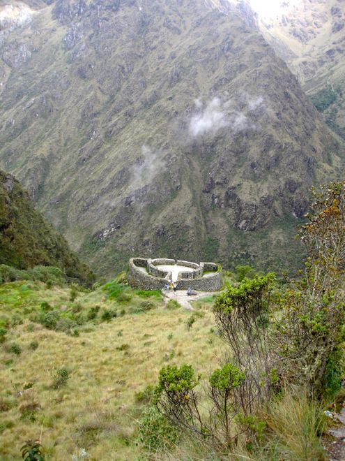 One of the many magical ruins along the Inca Trail. #travel #travelwithkids #familytravel #familyvacations #peru #incatrail #familyholidays http://www.suitcasesandstrollers.com/articles/view/the-inca-trail-with-kids?l=all