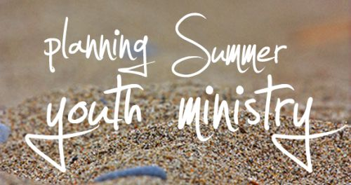 summer youth ministry