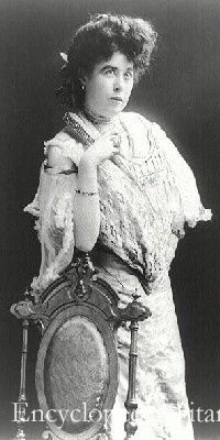 American socialite Margaret Brown (the unsinkable Molly Brown )