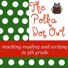 5th grade reading: Idea, Polka Dots, Teaching Reading, Grade Blog, Teaching Blog, 5Thgrade, 5Th Grade Reading, Reading Writ, Dots Owl