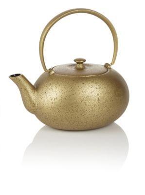 how to use teavana cast iron teapot