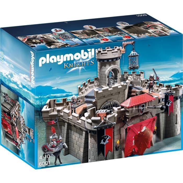 bonplan jouets cdiscount playmobil citadelle des chevaliers contient 3