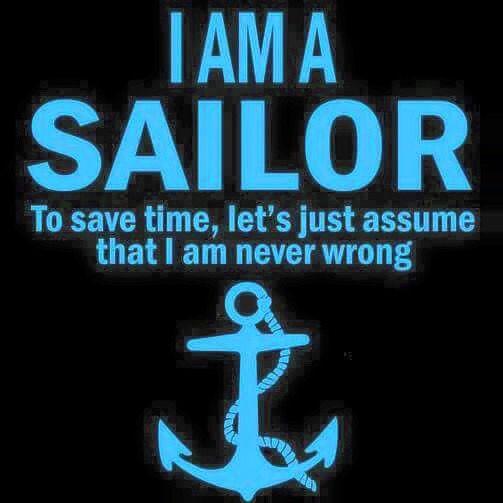 I'm a sailor