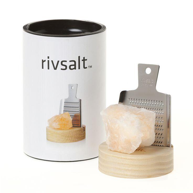 Rivsalt Salt Grater Gift Set | Gift for Men | Best Corporate Gift- Bockers and Pony