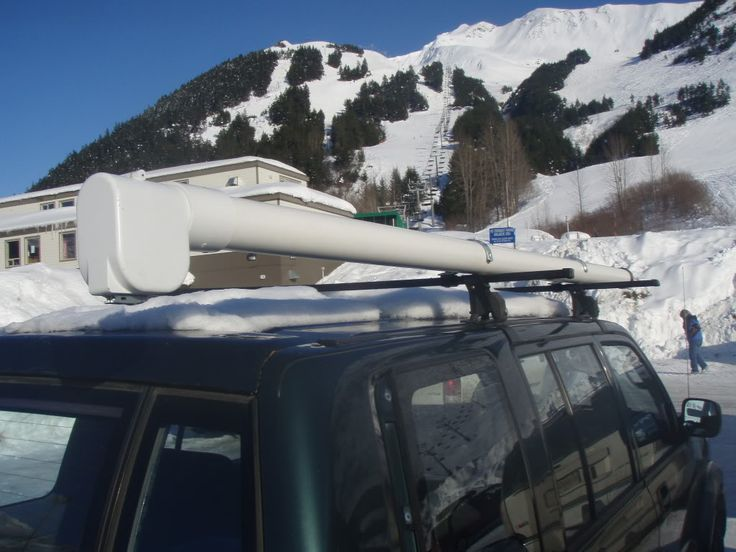 Weekend project idea rod case for vehicle fly fishing for Roof rack fishing rod holder