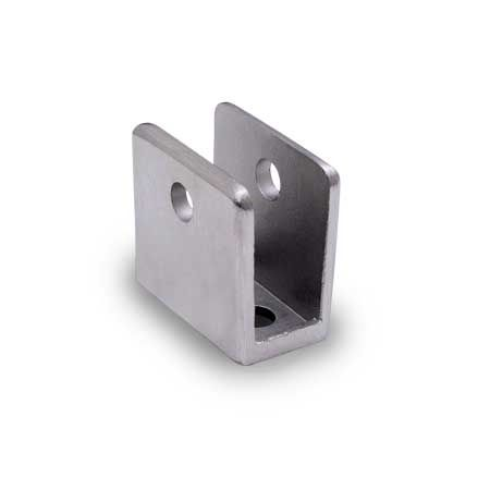 Partition Hardware U Bracket 1 2 Quot Stainless Supply
