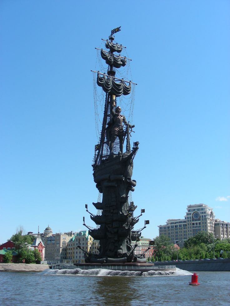 This massive monument is located in the heart of Moscow along the mighty Volga River - Photo by Robert Craig, Group Escort