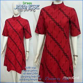 Baju Batik Kerja Wanita, Grosir Batik Solo, Baju Batik Pria: Dress Batik, Dress Batik Modern, Dress Party