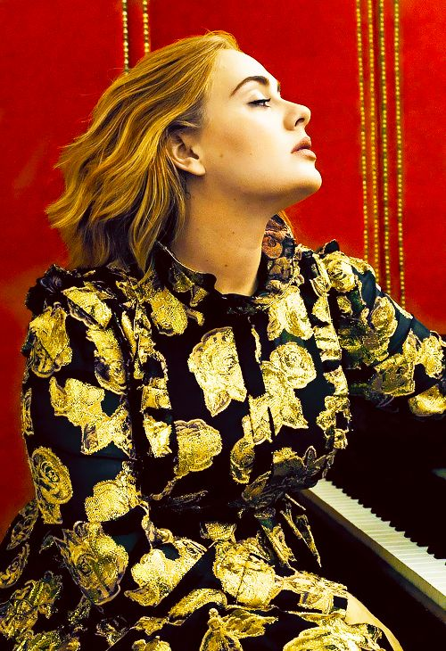 Adele for Vogue 2016