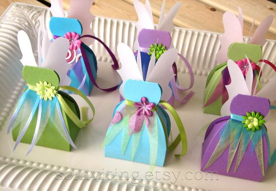 Fairy Favor Boxes by FolliesandVices on Etsy, $35.00