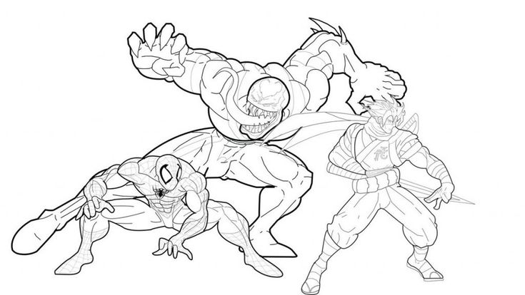 Venom Coloring Pages Spiderman Coloring Avengers Coloring Pages
