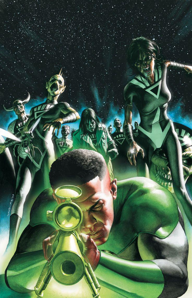 Green Lantern (John Stewart) by Rodolfo Migliari