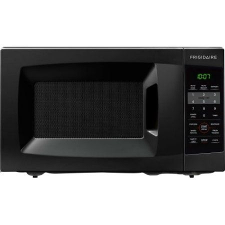 Frigidaire 0.7 Cu Ft 700W Countertop Microwave Oven, Black