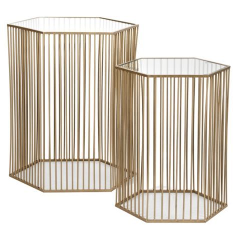 Stixx End Tables   Set Of 2 | End Tables | Occasional Tables |