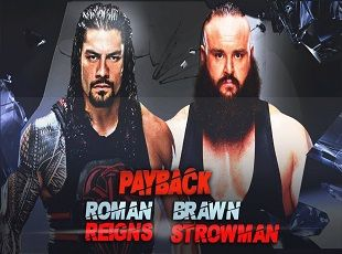 WWE RAW – 3 July 2017 – Roman Reigns Payback against Braun Strowman