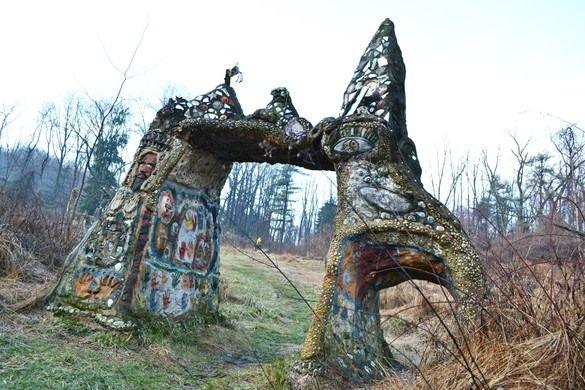 Lehigh Millennium Folk Arch – Bethlehem, Pennsylvania   Atlas Obscura