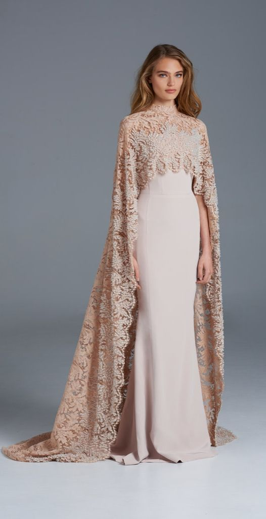The most perfect modest wedding dress ever!