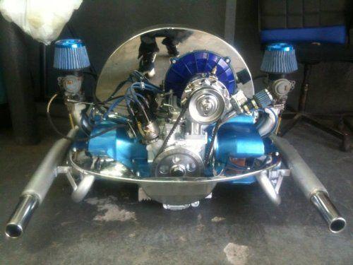 Vw 2387 Dual Port Complete Engine Sand Rail, Buggie, Bug, Ghia, Trike, Baja, Bus, Type Ii Volkswagen