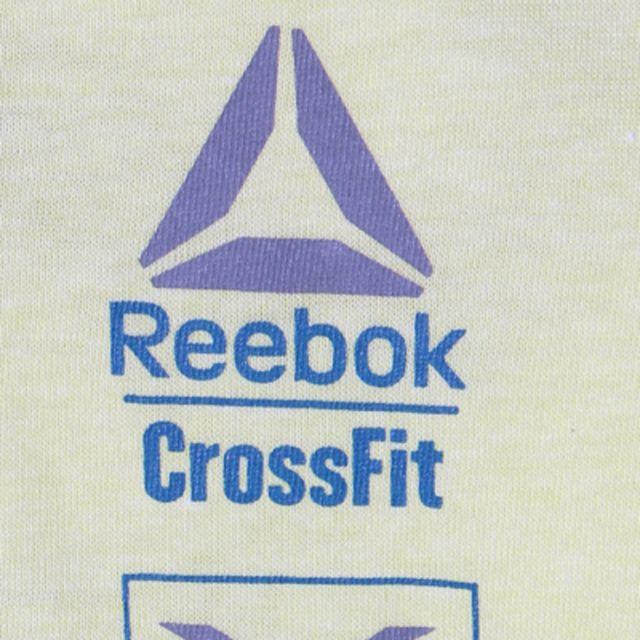【Reebok (リーボック) CrossFit クロスフィット グラフィック Tシャツ】アレンジしたクロスフィットのグラフィックを大胆にプリントしたシ…