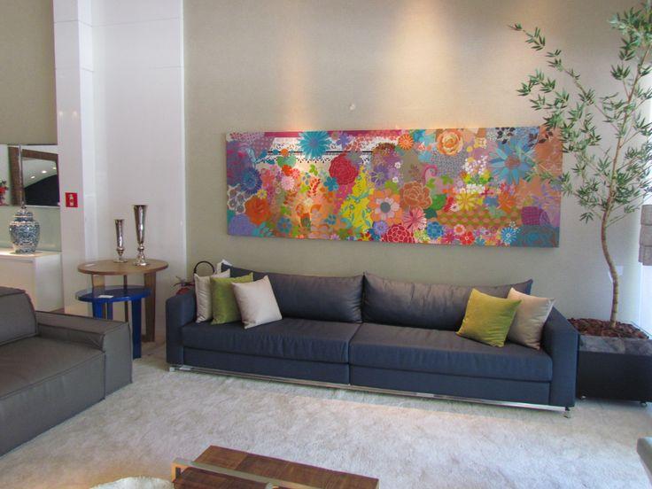 44 melhores imagens sobre obra de arte na parede nossos for Sala de estar pintura
