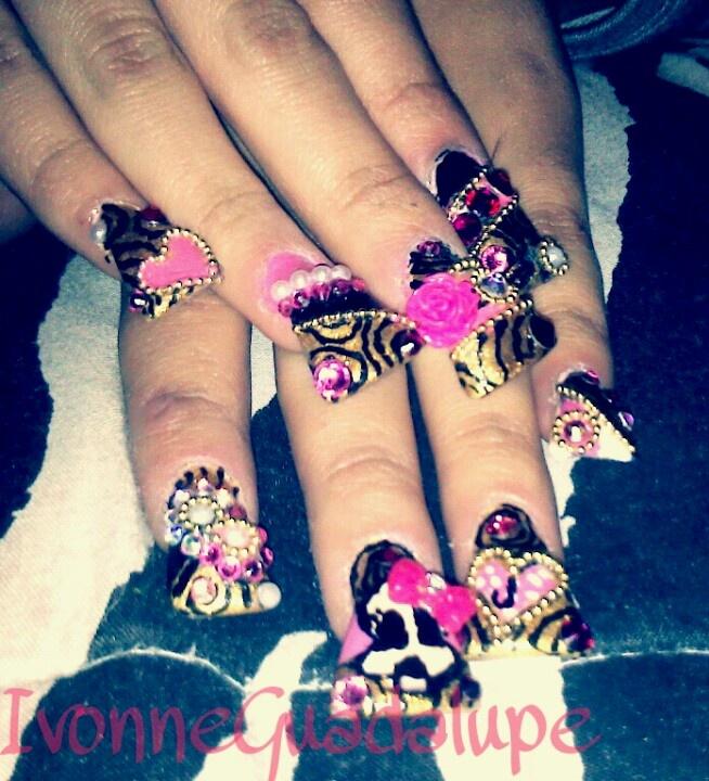 Estilo Sinaloa Nail Art ♥