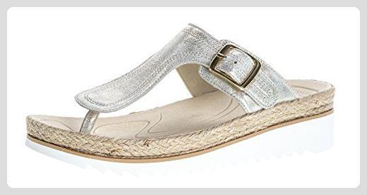 Gabor Damenschuhe 63.726.60 Damen Zehentrenner, Sandalen, Sandaletten, mit verbreiterter Auftrittsfläche Beige (nude), EU 6.5 - Clogs für frauen (*Partner-Link)