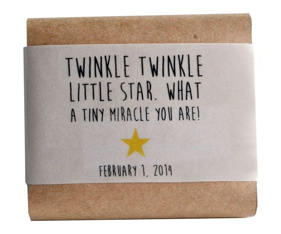 Personalized natural soaps make terrific baby shower or wedding favors that your guests will actually use.