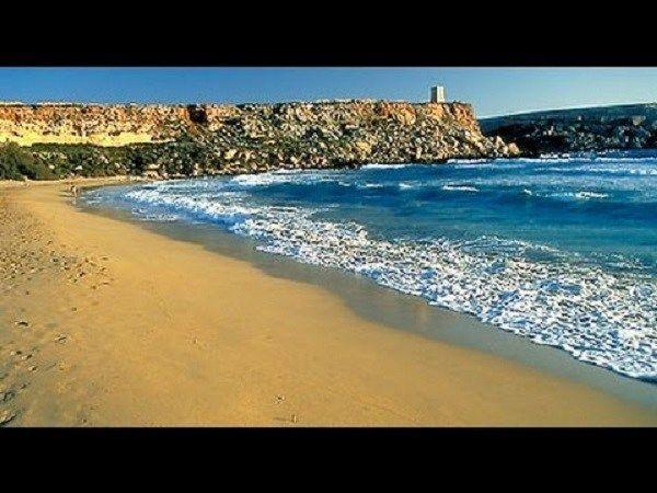 Отдых на Мальте -пляжи Мальты (Golden Bay)