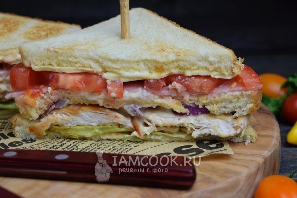 Рецепт клаб-сэндвича