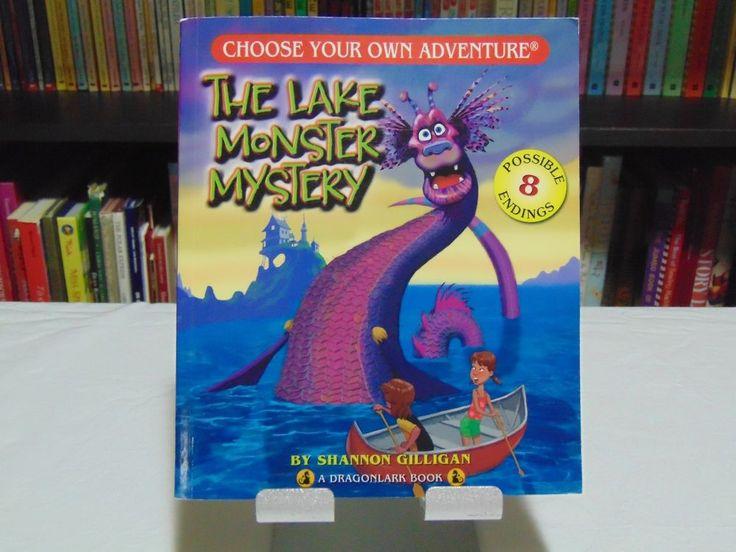 Choose Your Own Adventure The Lake Monster Mystery A Dragonlark CYOA Book  #Dragonlark