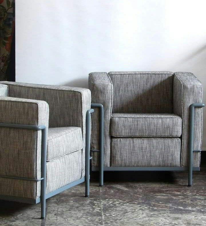 Fauteuils Le Corbusier Lc2 Tissu Designers Guild Fauteuil Vintage Fauteuil Chaise