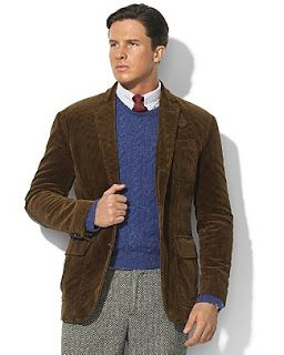 EMM (pronounced EdoubleM): Polo Ralph Lauren Cambridge Corduroy Sport Coat