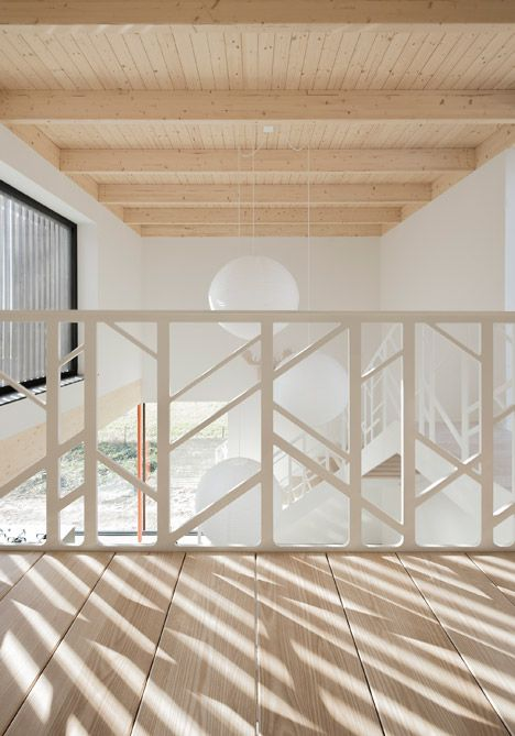 Beautiful Railing Huize Looveld by Studio Puisto and Bas van Bolderen Architectuur