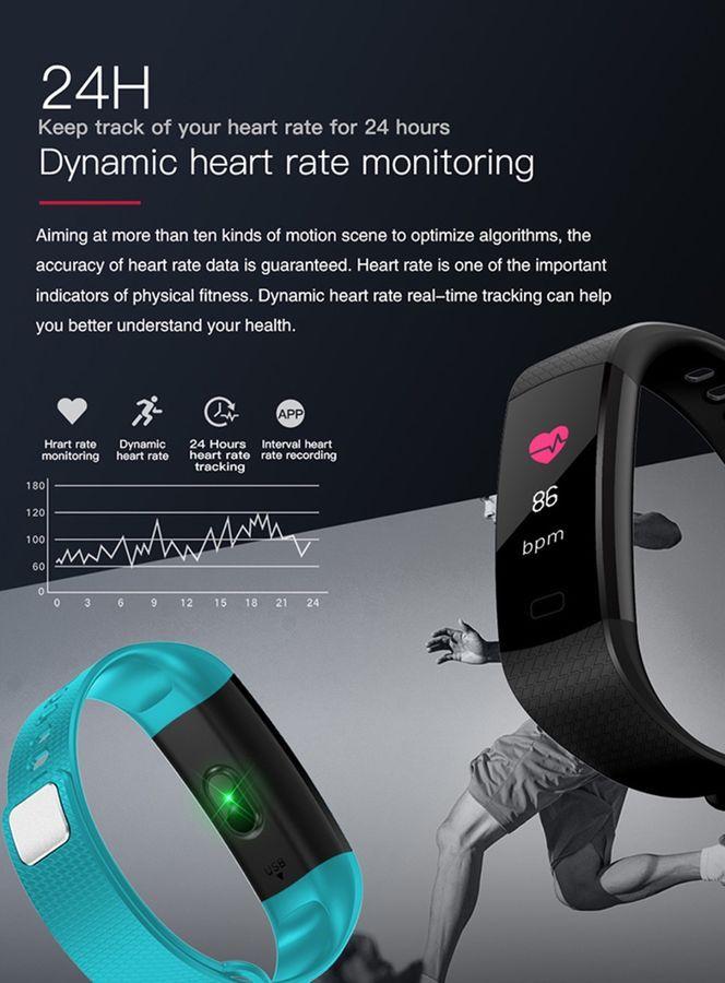 Smartarmband Mit Pulsmesser Armbanduhr Wasserdicht Ip67 Fitness Tracker Y5 Smart Band Fitness Tracker Fitness Tracker Fitness Watch Tracker