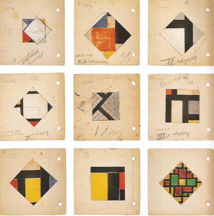 theo van doesburg étude pour contre composition 1924-27