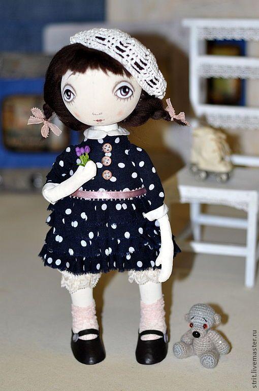 Купить Рио-Рита ( для Елены) - грунтованный текстиль, текстильная кукла, тыквоголовка, Полунина Светлана
