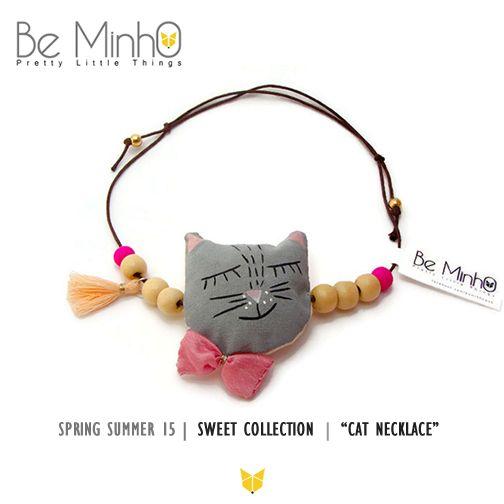 Be Minho - Cat  Necklace   http://beminho.blogspot.pt/