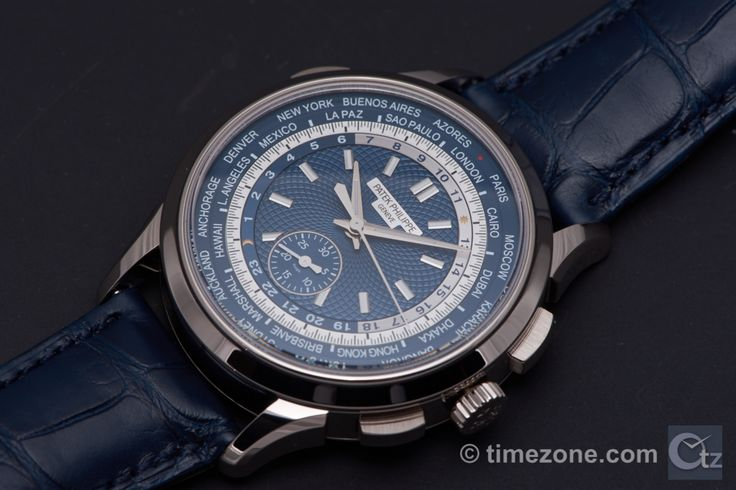 Patek philippe World Timer Blue Dial