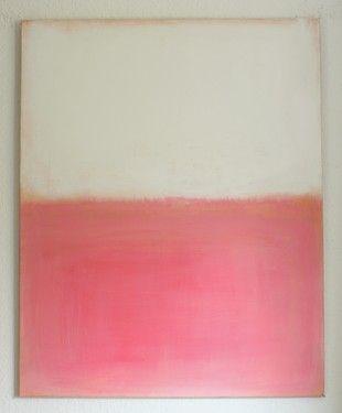 "Saatchi Art Artist CHRISTIAN HETZEL; Painting, ""simple pink"" #art"