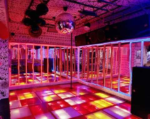 disco disco...I spent many, many nights in places like this......