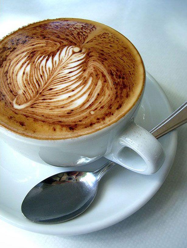 Coffee art, seems a pity to drink it.