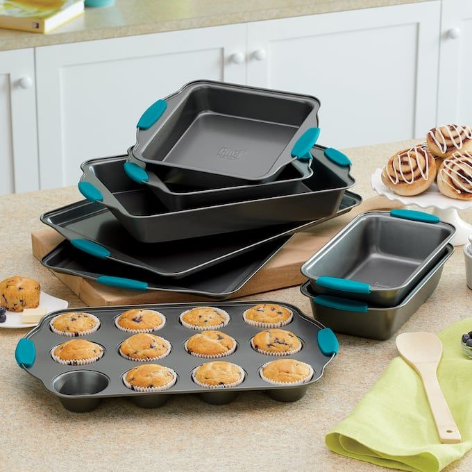 Chef Tested 8 Piece Nonstick Bakeware Set In 2020 Bakeware Cake